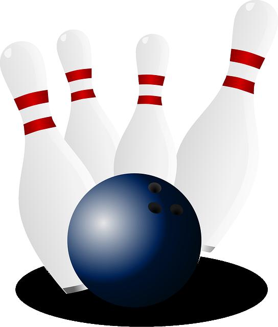 Bowling, Skittles, Ninepins, Tenpins, Pins, Hit, Ball