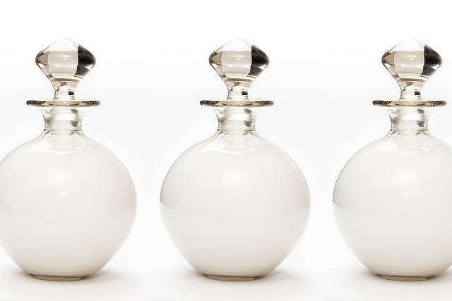 Bath Milk, Glass, Fund, Background, Round, Ball