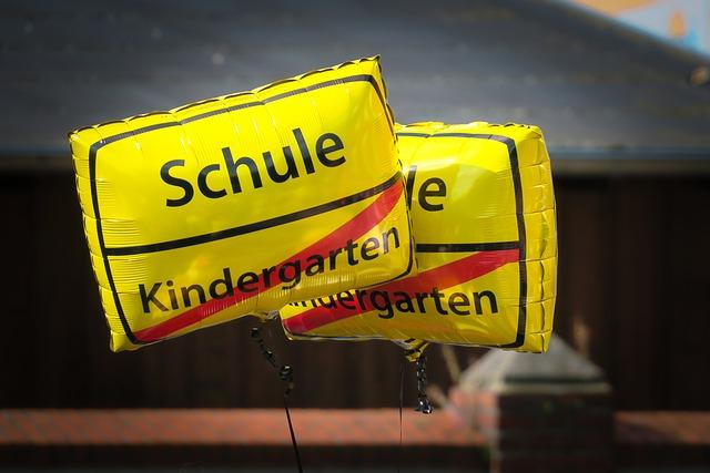 School Enrollment, Balloon, Back To School, Schulbeginn