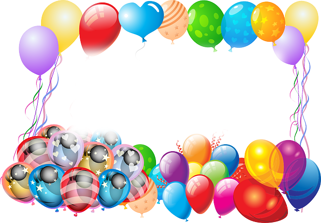 Balloons, Birthday, Greeting, Happy Birthday, Luck