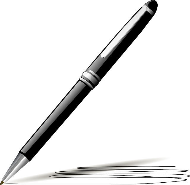 Pen, Black, Ink, Ballpoint, Feather, Style, Old, Write