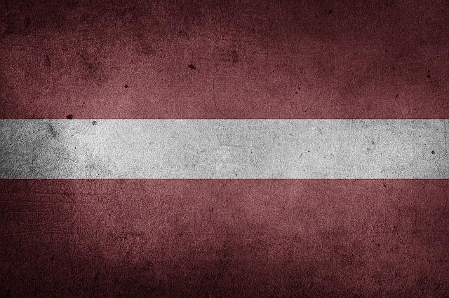 Flag, Latvia, Europe, Baltic, Grunge
