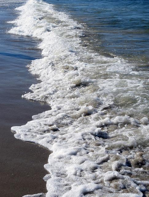 Water, Sea, Beach, Sand, Bank, Reflections, Baltic Sea