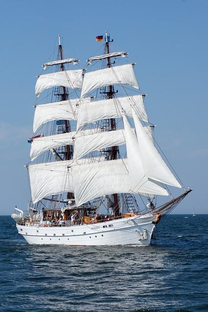 Ship, Hanse Sail, Baltic Sea, Summer, Mood