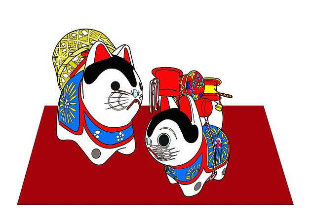 Dog, Bamboo Basket Dog, A Mascot, Japan, Tradition