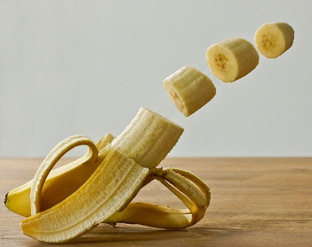 Banana, Fruit, Manipulation, Studio, Yellow, Healthy