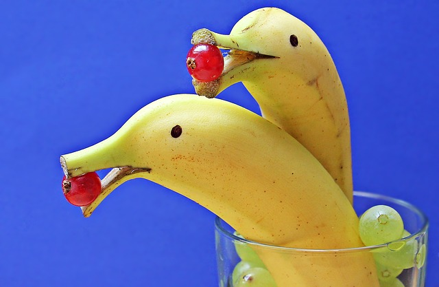 Delfin Bananas, Banana Dolphin, Bananas, Dolphins
