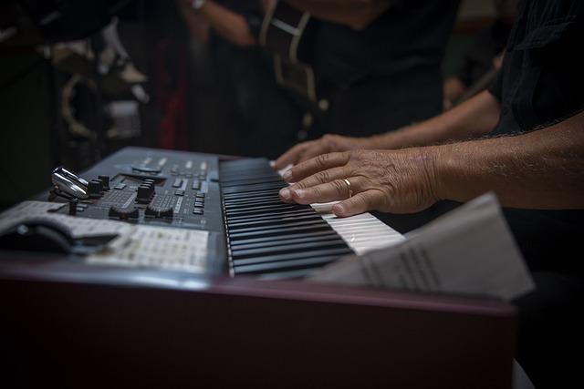 Piano, Band, Music, Instrument, Musician, Keyboard