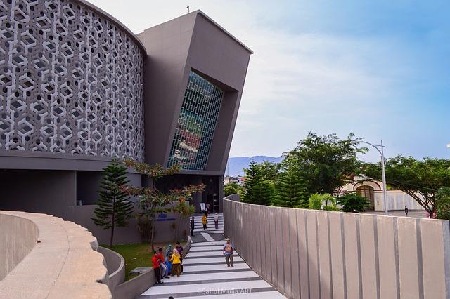 Museum, Tsunami, Banda Aceh, Architecture, Landmark