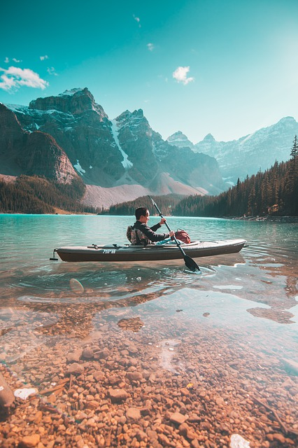 Banff, Alberta, Canada, Landscape, Water, Nature