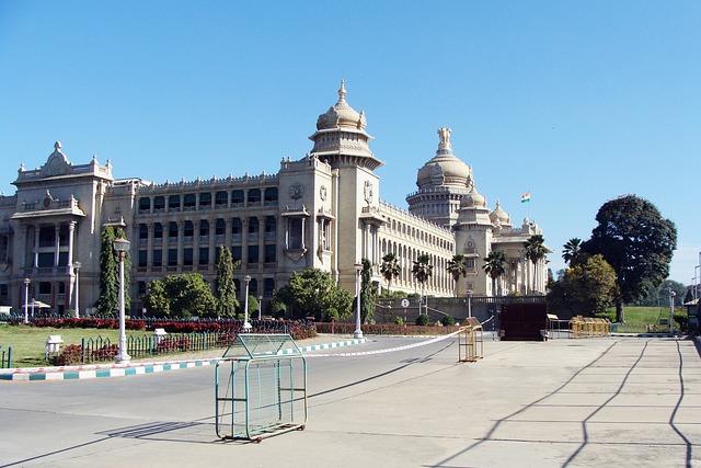 Karnataka, Vikasa Soudha, Vidhana Soudha, Bangalore