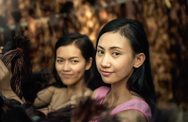 Young, Face, Teens, Adult, Asia, Autumn, Bangkok