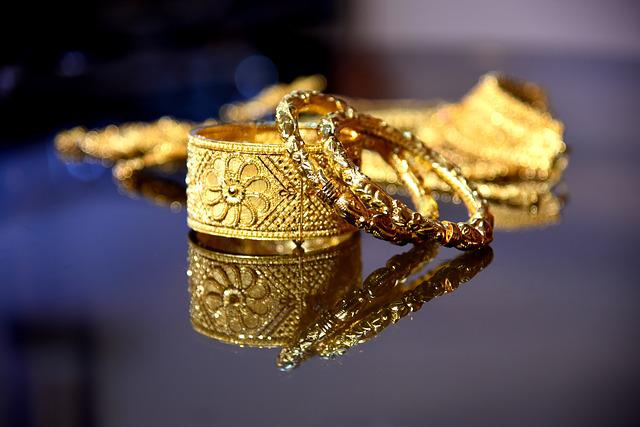 Indian, Gold, Jewelry, Bracelet, Bangle, Female