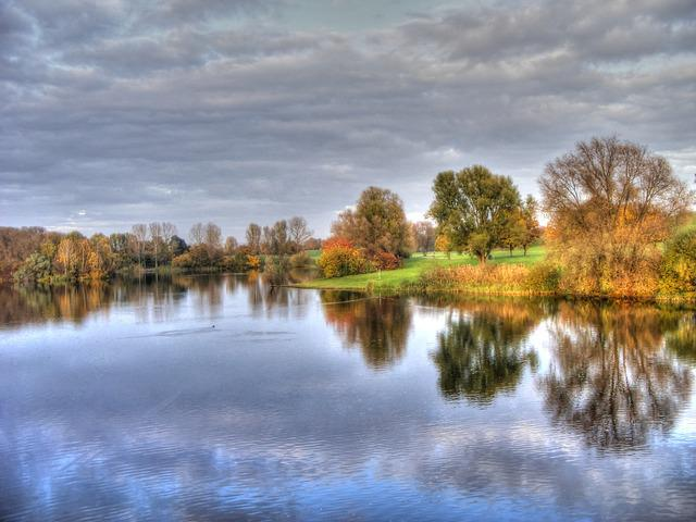Lake, Trees, Landscape, Nature, Bank, Autumn, Forest