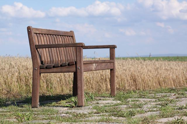 Bank, Nature, Out, Bench, Seat, Wood