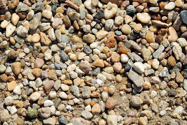 Pebbles, Pebble, Bank, Stones, Texture