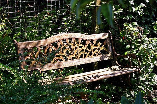 Garden Bench, Bank, Rest, Seat, Wood, Nature