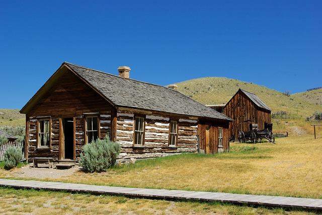 Bannack Montana House, Montana, Usa, Bannack