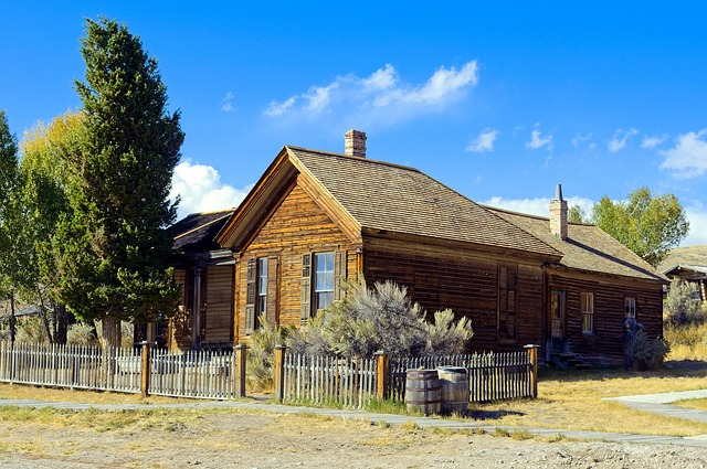 Roe-graves House, Bannack, Montana, Ghost, Town