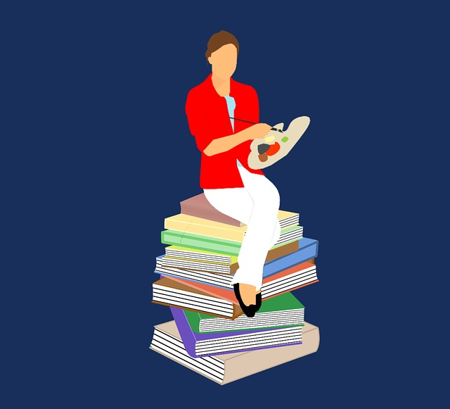 Book, Drawing Course, Woman, Banner, Education, Student