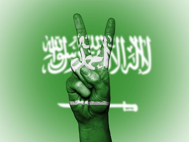 Saudi Arabia, Peace, Hand, Nation, Background, Banner