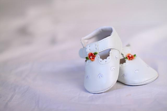 Shoes, Baptism, Schühchen, Baby, White, Noble, Cute