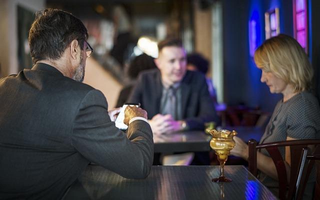 After Work, Bar, Boss, Business, Business People
