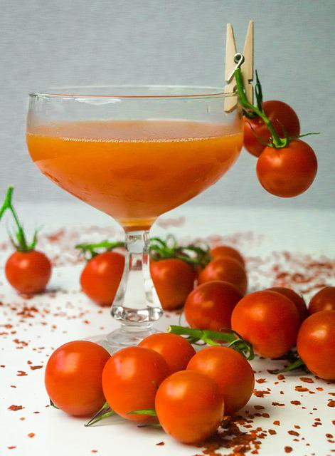 Cocktail, Red, Tomato, Beverage, Drink, Alcohol, Bar