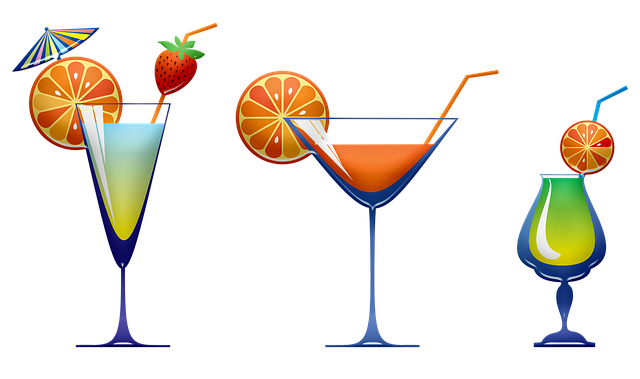 Cocktail, Drink, Glass, Bar, Alcohol, Beverage