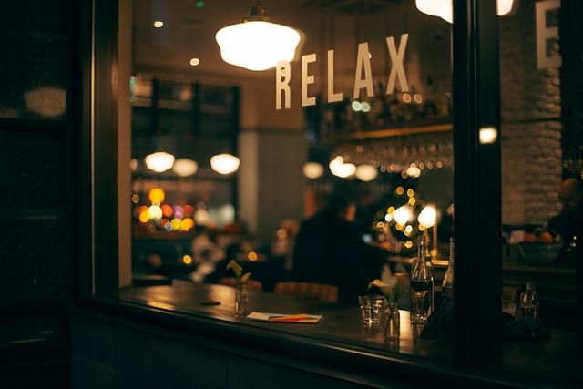 Dark, Night, Lights, Bar, Store, Bokeh, People, Man