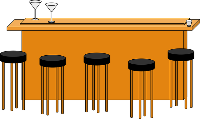 Alcohol, Bar, Barstool, Bar Stool, Martini