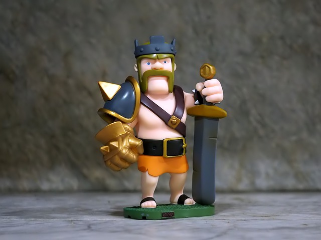 Barbarian King, Online, Game, Character, Play, Mobile
