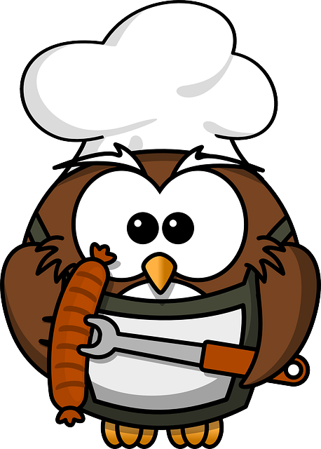 Owl, Animal, Barbecue, Bird, Cook, Funny, Grill