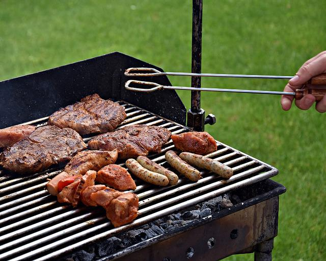 Barbecue, Picnic, Grill Party, Flare-up