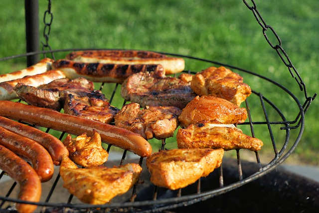 Grill, Grilled Meats, Party, Barbecue, Steak, Meat