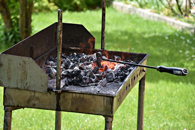 Wood, Summer, Carbon, Barbecue, Embers
