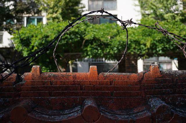Barbed Wire, Damme, Wall, The Division Of The, Boundary