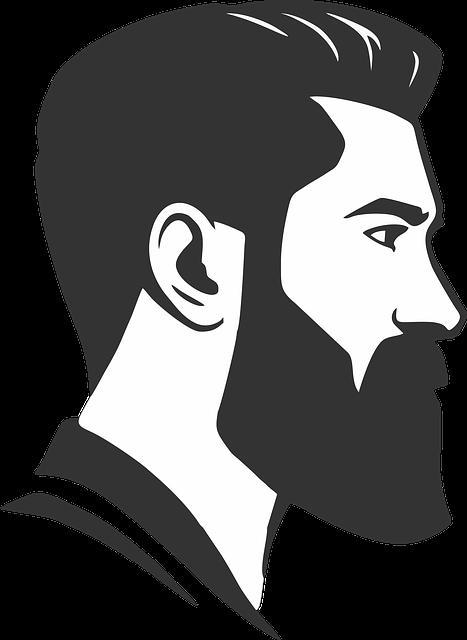 Vector, Beard, Barber Shop, Man
