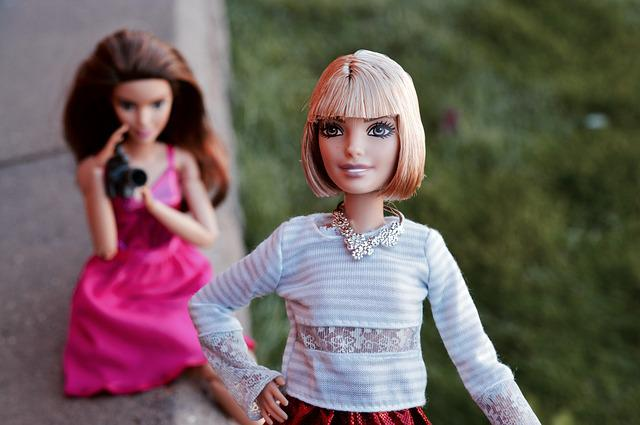 Barbie, Doll, Posing, Pose, Portrait, Camera, Film