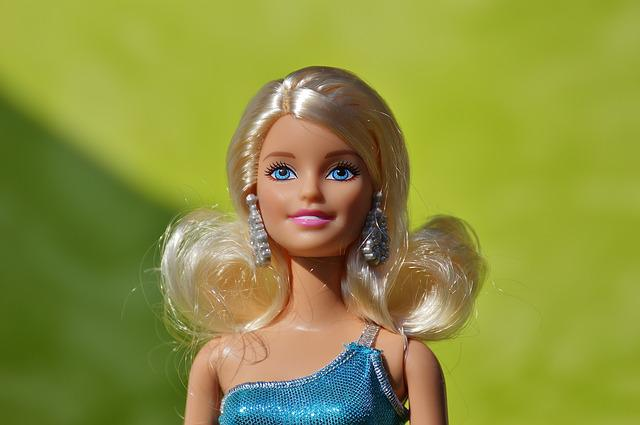Barbie, Pretty, Doll, Children Toys, Doll Face, Play
