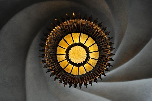 Ceiling, Chandelier, Barcelona, Home Batlló