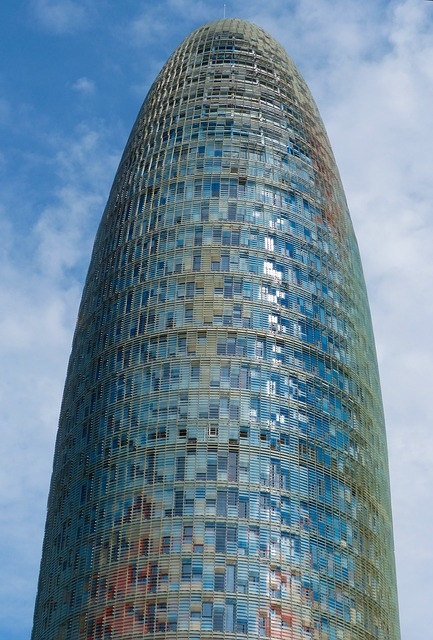Modern Architecture, Skyscraper, Agbar Tower, Barcelona