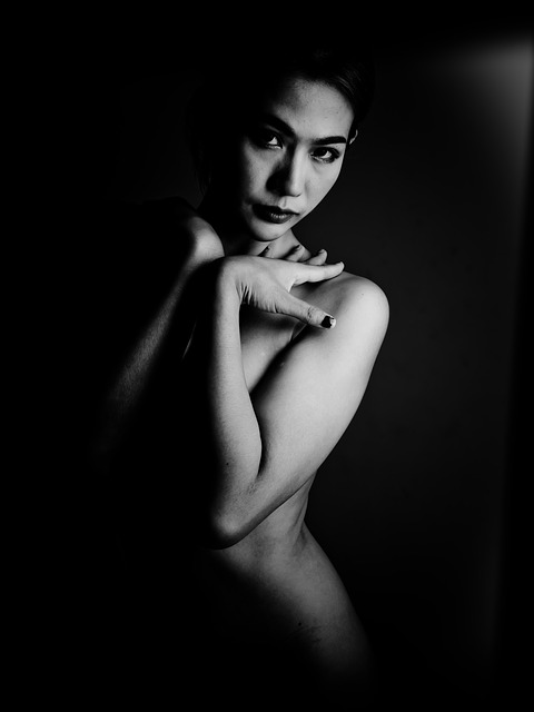 Lady, Bare, Surface, Sexy, Body, Eyes