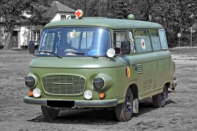 Barkas, Ambulance, B1000, Nva