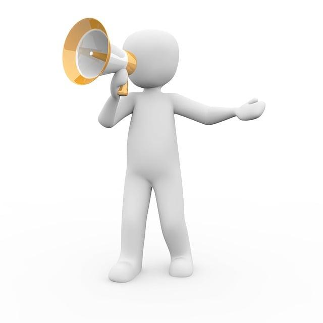 Megaphone, Announcement, Information, Barker, Speakers