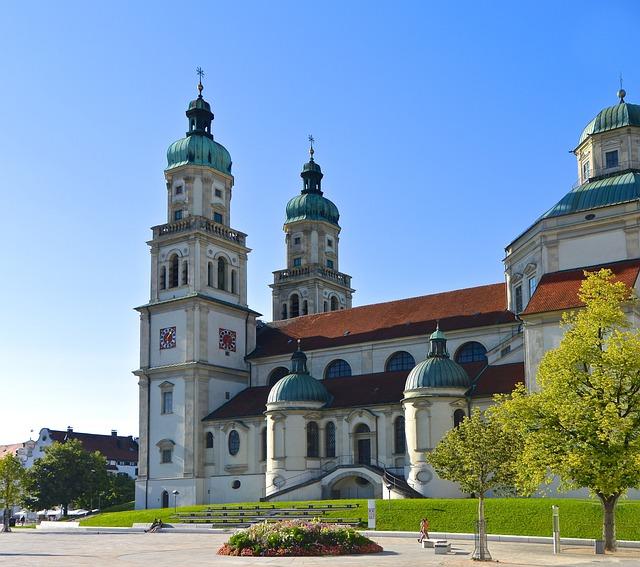 Architecture, Kempten, Baroque, St Lorenz Basilica