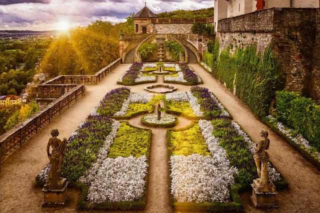 Garden, Baroque, Architecture, Historically, Symmetry