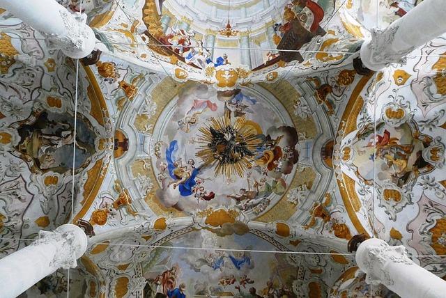 Fresco, Baroque, Unsere Liebe Frau Im Moos, Church