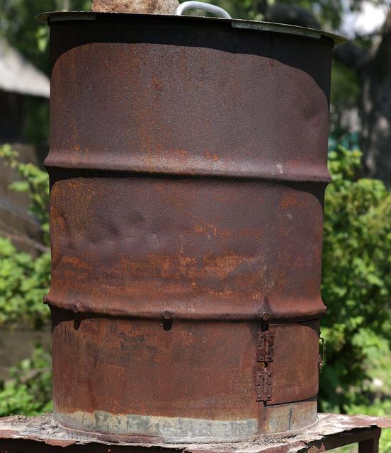 Barrel, Rust, Texture
