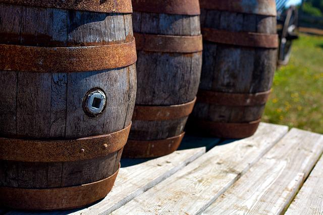 Barrel, Barrels, Middle Ages, Wine Barrel, Wine